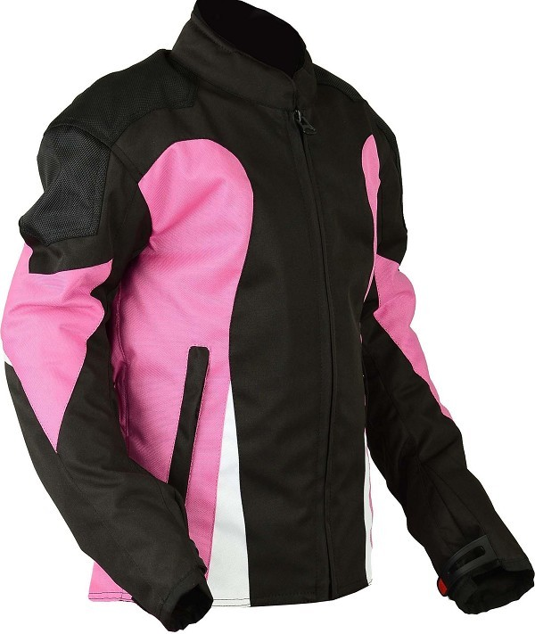 MOTORCYCLE CORDURA JACKET WITH PROTECTION CE 3/4 FOR CHILDREN